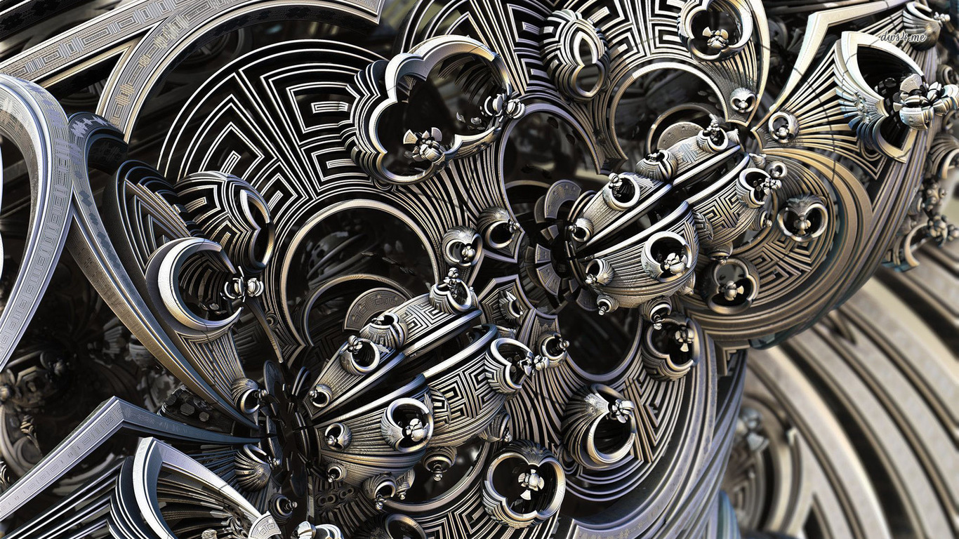16770-fractal-machine-parts-1366x768-3d-wallpaper
