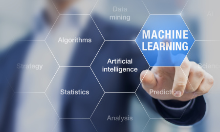 Machine learning to improve artificial intelligence ability for prediction