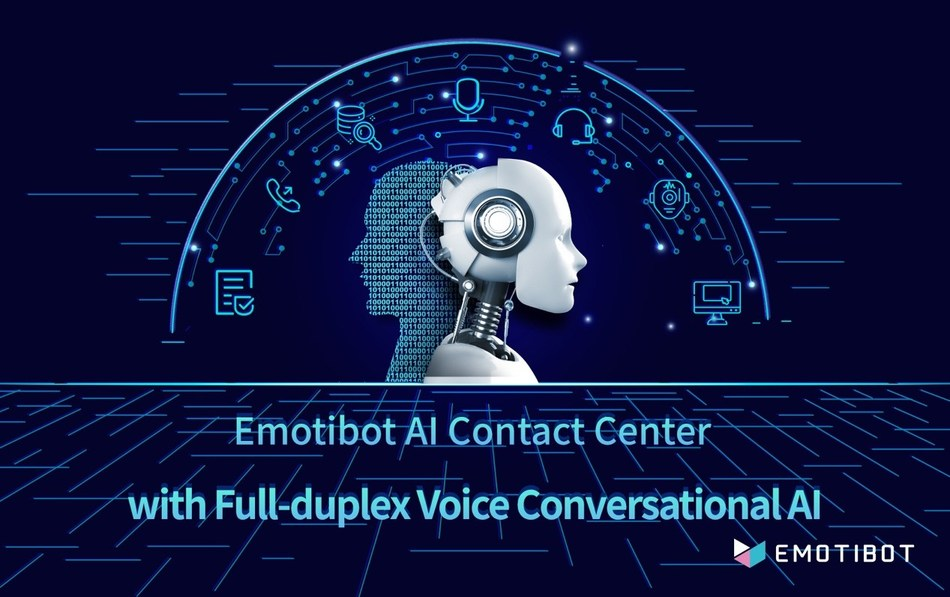 Emotibot-AI-Contact-Center-system-full-duplex-voice-conversational-AI